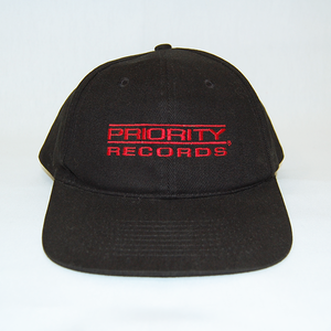 """Priority Records"" Snapback Cap Used"