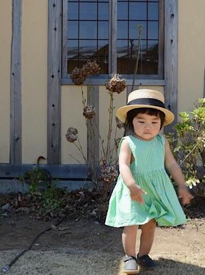 gingham check summer dress SS