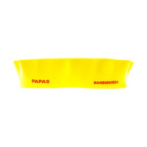 PAPAS&HUMBURGUESA Plastic Plate