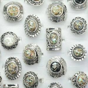 アワビ貝加工 リング 鮑の指輪