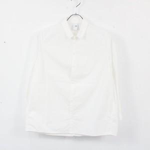 NO CONTROL AIR / ノーコントロールエア   コットンナローショートカラーシャツ   38   ホワイト