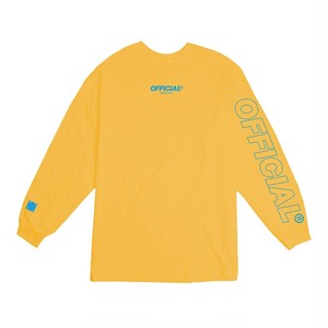 OFFICIAL Neue Logo Longsleeve        SP19-0105
