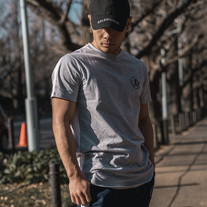 Side Line T-Shirts Gray