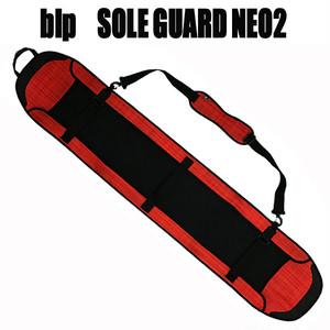blp ソールガードNEO2 レッドチェック スノーボードカバー 高品質ウェット素材