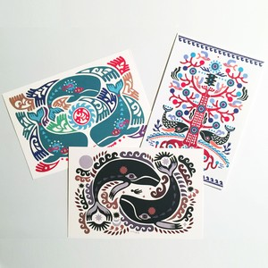 POST CARD 3枚SET【WHALE】