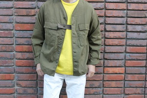 SANDINISTA / Military Drawstring Stretch Shirt