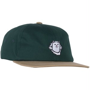 RIPNDIP - Nermamaniac 6 Panel (Tan / Hunter Green)