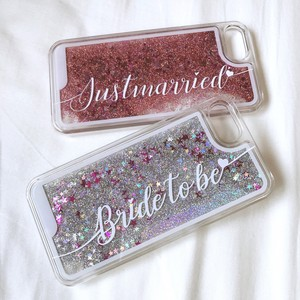 iPhone case-glitter-
