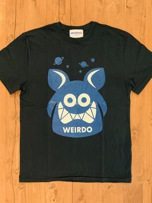 【WEIRDO】ウィアード WEIRDO FINK - S/S T-SHIRTS (BLACK/BLUE) メンズTシャツ