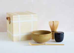 Ippukubox −イップクボックス−(ホワイト)|高橋工芸|お茶、茶道、初心者安心セット