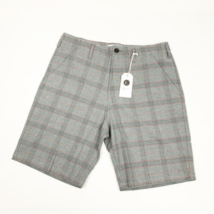 Universal Works / LOOSE SHORT - COTTON CHECK SUITING
