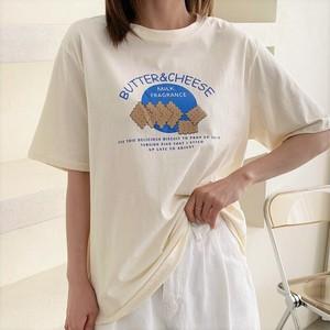 【送料無料】全3色♡プリントクッキーTシャツ♡