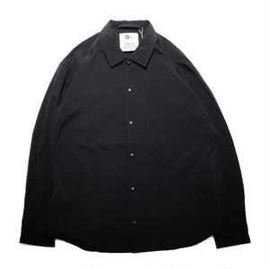 【O-】レイチョウルイラボ BAGGY SHIRT / Black