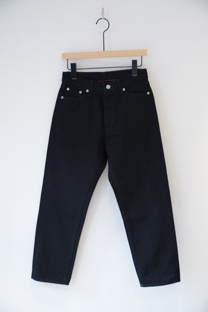 【ordinary fits】5P ANKLE BLACK DENIM one wash/OM-P020BOW