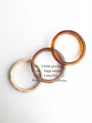 Marble bangle (単品 マーブルバングル)