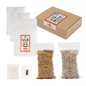 【7月29日(木)13時30分開催】オンラインワークショップ付もち麦あわせみそ手作りキット1kgプラン【先着5名さま】