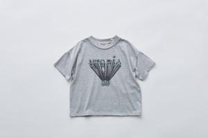 【21SS】eLfinFolk(エルフィンフォルク)utopiaTee (80/90/100110/120/130)top grayTシャツ
