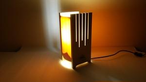 【いやしとやすらぎの空間】を演出する 青森ヒバ 木製 和風 照明   No.   008