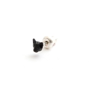 simmon/Cat Head Pierce_Black(片耳)