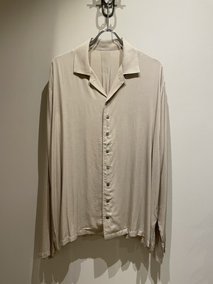 EASY TO WEAR 21ss OPEN COLLAR ETW21SS−OSH002 CREAM イージートゥウェア クリーム