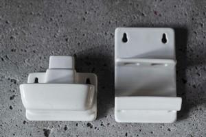 Denmark Alminia 壁付けソープディッシュ / 歯ブラシスタンド