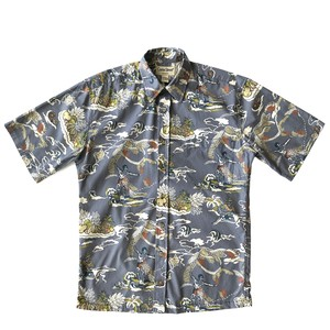 Cooke street USEDアロハシャツ / land of aloha / size S