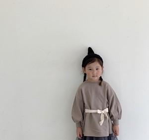 2way ribbon MTM  2wayリボントレーナー 韓国買い付けアイテム 韓国子供服 子供服 女の子 TA0025
