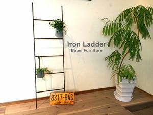 アイアンラダー 壁掛け はしご [Iron Ladder]