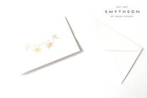 スマイソン|SMYTHSON|THANK YOU 2つ折りカードセット|10セット