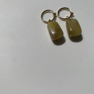 pistàcchio×green marble  pierce