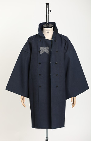 火消コート(Hikeshi-coat)/ 刺子(Sashiko)(With tailoring)
