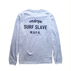 【SURF SLAVE L/S TEE】white
