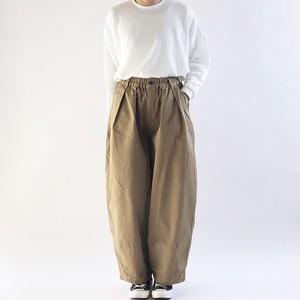 【HARVESTY】CHINO CIRCUS PANTS (BEIGE) (UNISEX) サーカスパンツ ユニセックス 日本製 ハーベスティ
