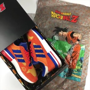 "限定☆レア【Adidas x Dragon Ball Z】""悟空"" ZX 500 RM DB 26cm"