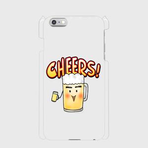 乾杯・ビール君 iphone6/6sPlus スマフォケース