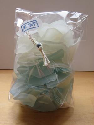 南房総のシーグラスお徳用 450g ブルー・ホワイト大