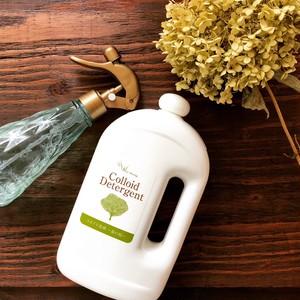 敏感肌の方に。コロイド洗剤~森の精~ 1L 環境に優しい植物由来の界面活性剤のみで作りました