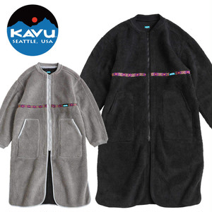 (カブー)KAVU Boa Bench coat