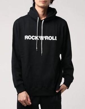 NUMBER (N)INE【ナンバーナイン】ROCK'N'ROLL__HOODY SWEATSHIRT       スウェットパーカー(ブラック)