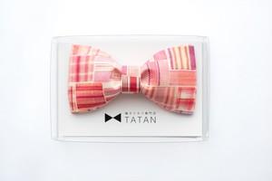 TATAN ピンクキュート蝶ネクタイ