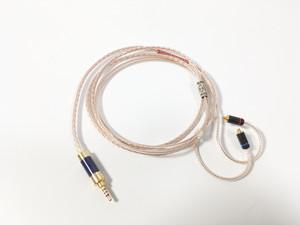 8本編み2.5mm4poleーMMCX リケーブル(AM-8254TA-MMCX)