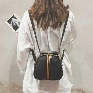 【バッグ】人気ファッションストリートリュックファスナーショルダーバッグ