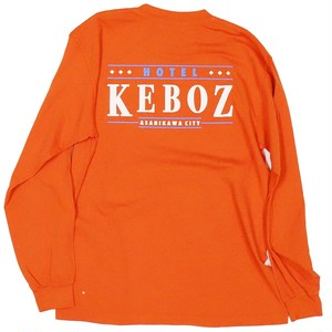 HOTEL KEBOZ L/S Tee Bright Orange