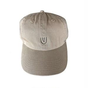 """""""Symbol -beige-"""" Baseball Low Cap"""