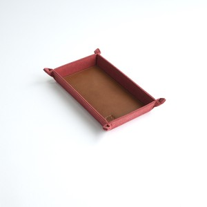CANVAS CASH TRAY / RED