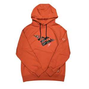 Paper Planes Global Distortion Hoodie / Burnt Ochre