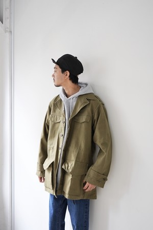 【MILITARY】FRENCH MILITARY M-47 FIELD JACKET(前期)
