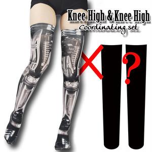 Selectable knee high socks! Set sales<機械/Machine>