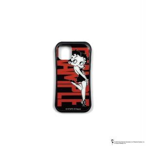 EXAMPLE x BETTY BOOP BLACK DRESS iPhone CASE / BLACK