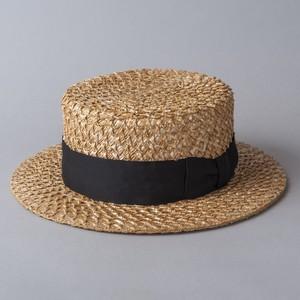 "[SOLARIS&CO.] Boater Hat ""HUMMINGBIRD"""